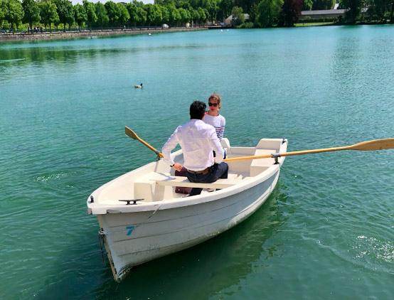 A découvrir en famille ou entre amis : location de barques au château de Fontainebleau