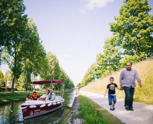 A la découverte du canal de l'Ourcq en bateau sans permis