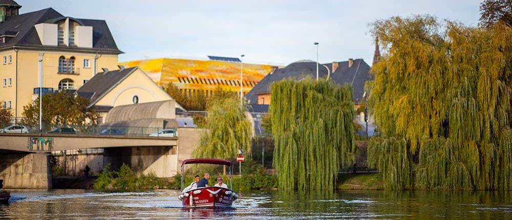 Balade nature à Strasbourg en bateau électrique