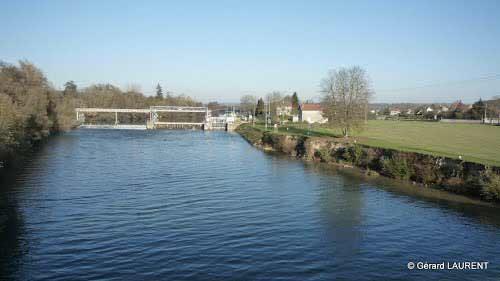 Le barrage d'Isle-lès-Meuldeuses