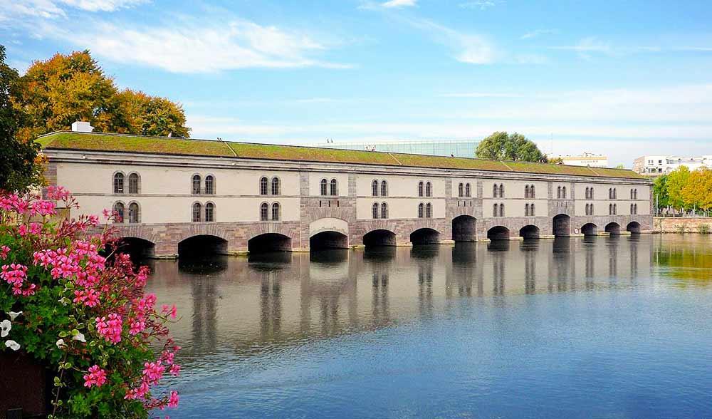 Le barrage Vauban : découvrez Strasbourg différemment avec Marin D'Eau Douce