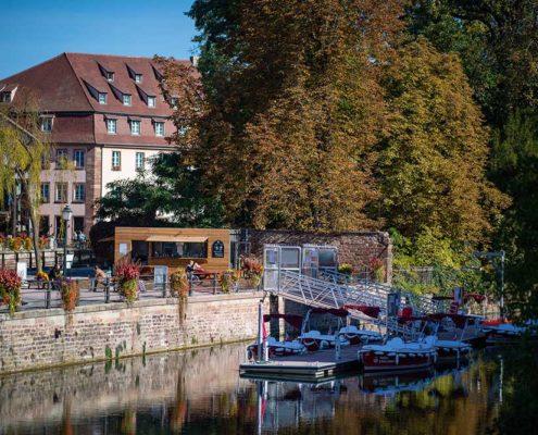 Base nautique Marin d'Eau douce à Strasbourg : location de bateaux électriques