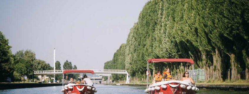 Des bateaux électriques pour naviguer sur la Marne sans polluer
