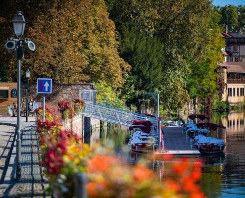 Base Marin d'Eau Douce à Strasbourg Centre : réservez dès maintenant vos bateaux électriques !