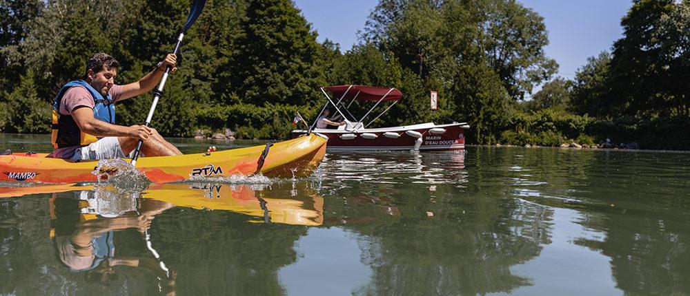 Louez un canoë avec votre balade en bateau avec Marin d'Eau Douce