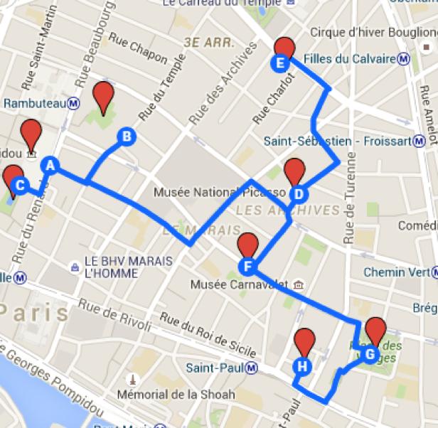 Visiter Paris en 3 jours   Marin d'Eau Douce