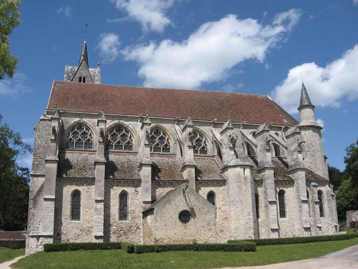 Collégiale Notre-Dame de l'Assomption à Crécy-La-Chapelle