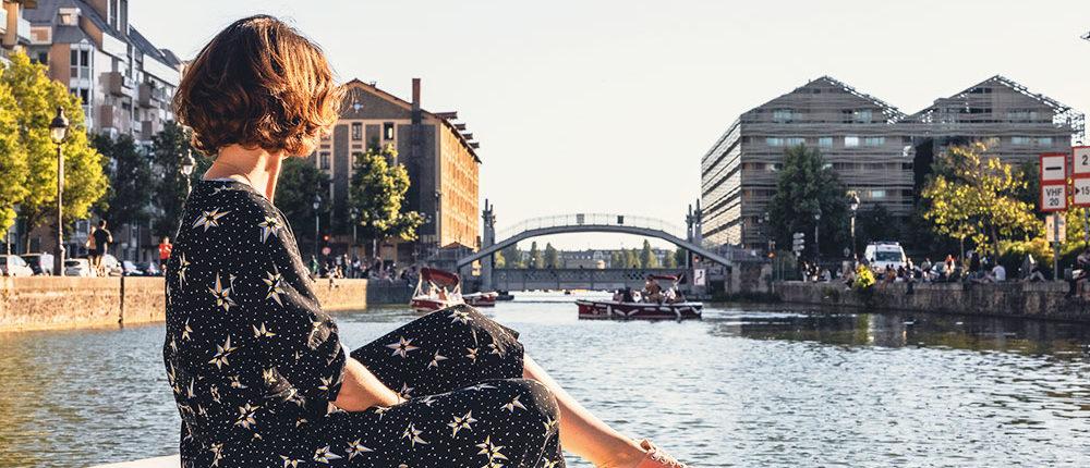Le Pont de Crimée : découvrez depuis un bateau électrique et sans permis le plus vieux pont levant de Paris.
