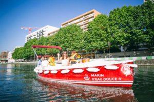 Découvrir le nord de Paris à bord de bateaux électriques