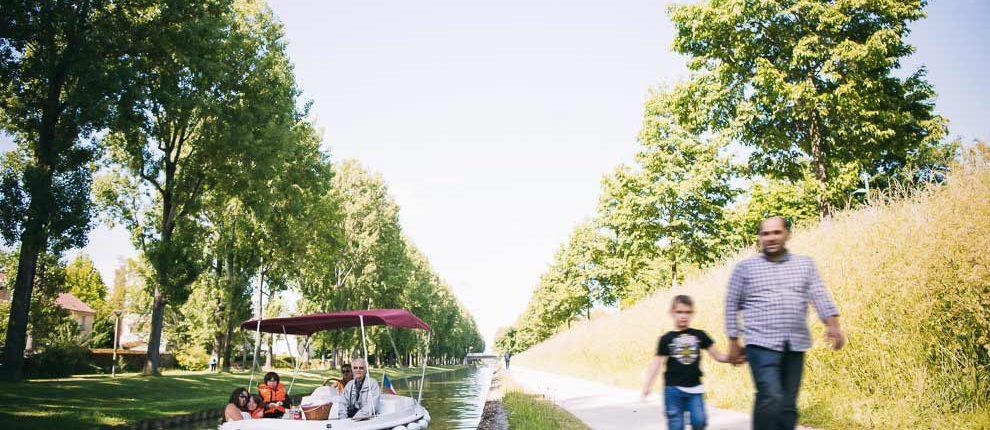 Dépaysement en bord de Marne