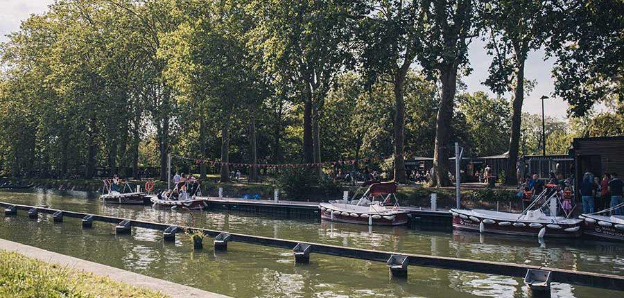 La Deûle idéale pour naviguer en bateaux électriques à Lille