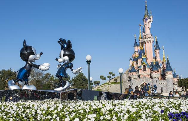 Disneyland Paris, Mickey et le château