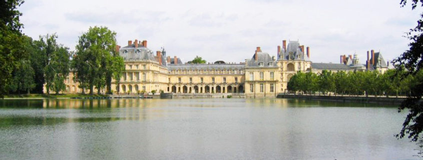 L'étang aux carpes du château de Fontainebleau