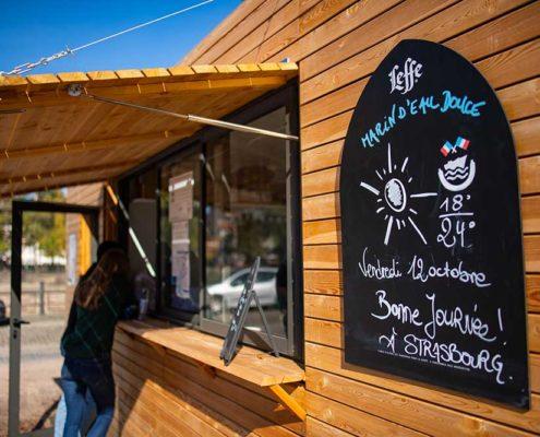 La Guinguette du Capitaine Marin d'Eau Douce à Strasbourg : café, bar et snack