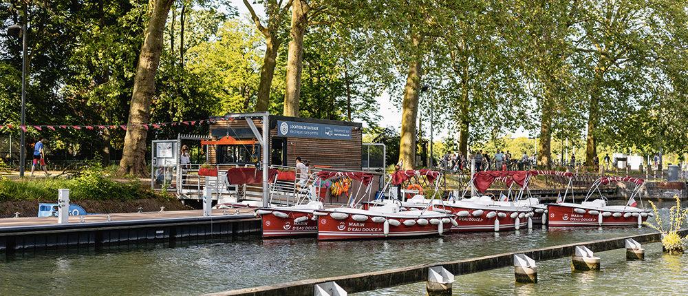 Base nautique Marin d'Eau Douce Lille : idée activité à Lille Citadelle