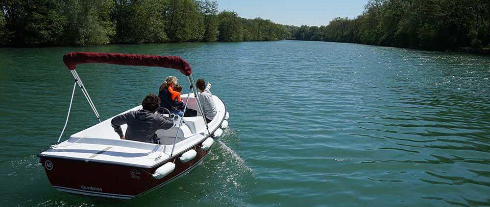Itinéraire 1H à Meaux : Laissez-vous dériver sur plus de 20 km navigables le long des berges de la Marne
