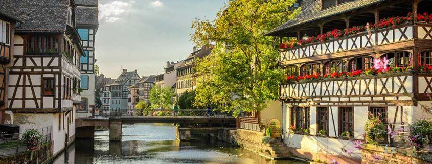 Itinéraire avec permis fluvial - Petite France