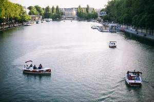 Itinéraire Bassin de la Villette