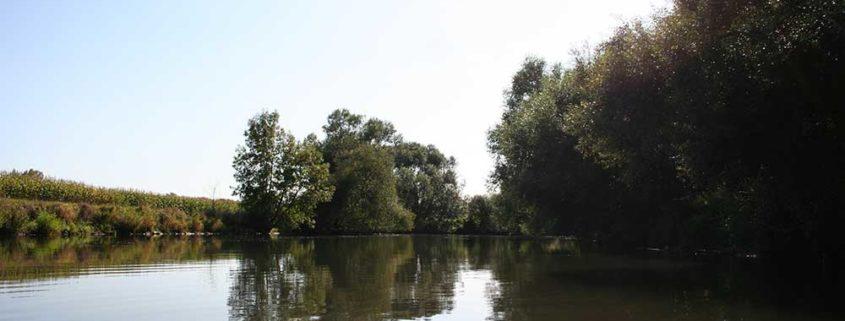 Itinéraire 2H - Balade en bateau sans permis vers Ostwald - itinéraire nature