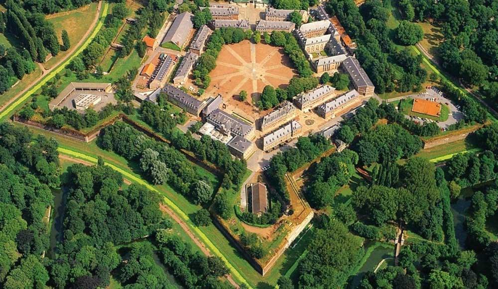 La Citadelle de Lille vue du ciel