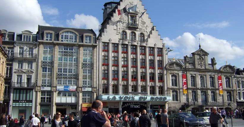 Le siège de la Voix du Nord à Lille