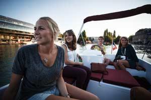 louer un bateau pour un enterrement de vie de jeune fille