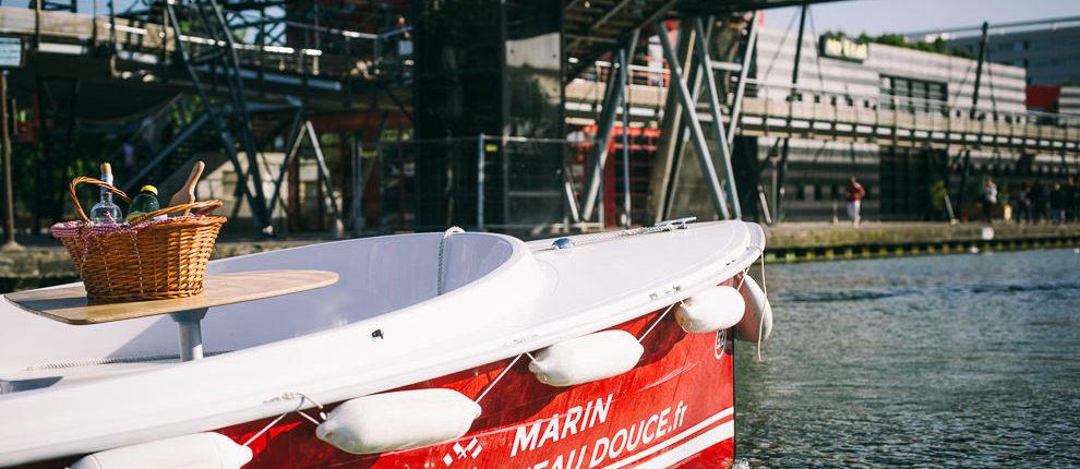Marin d'Eau douce : Apéro sur l'eau en amoureux