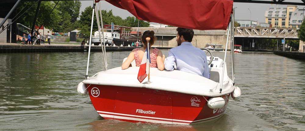 Marin d'Eau douce : week-end en amoureux à bord d'un bateau sans permis