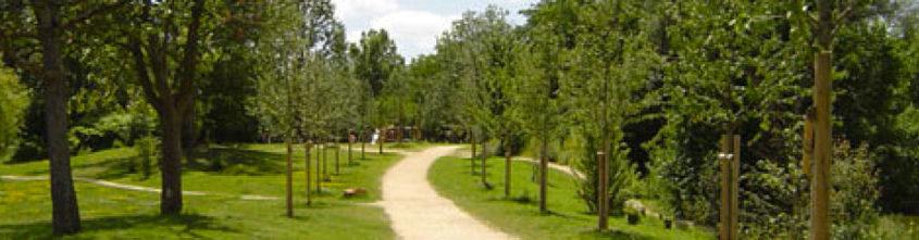 Le parc du Pâtis à Meaux