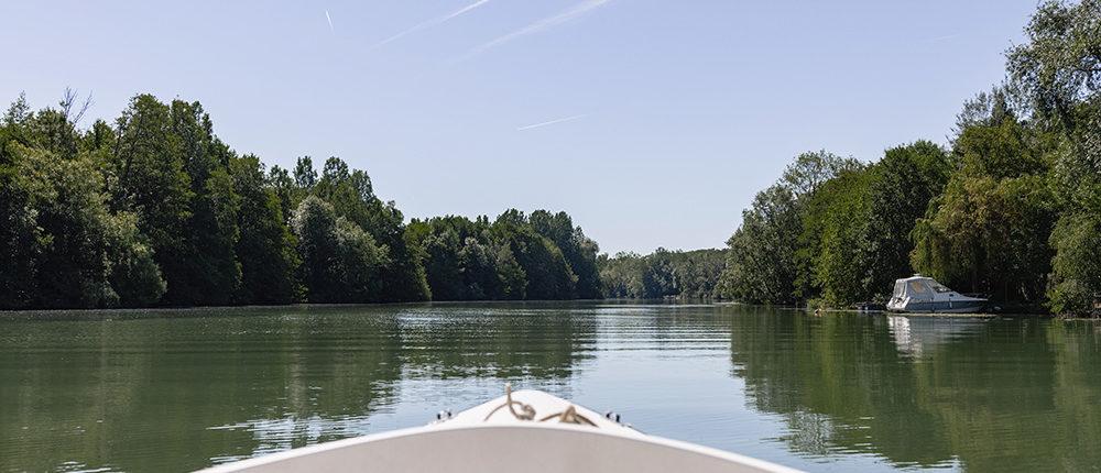 Parc naturel du Pâtis : Balade en pleine nature sur la Marne en bateau Marin d'Eau Douce