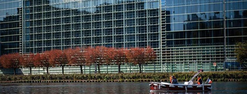 Le Parlement Européen reste un moment magique de votre balade à Strasbourg