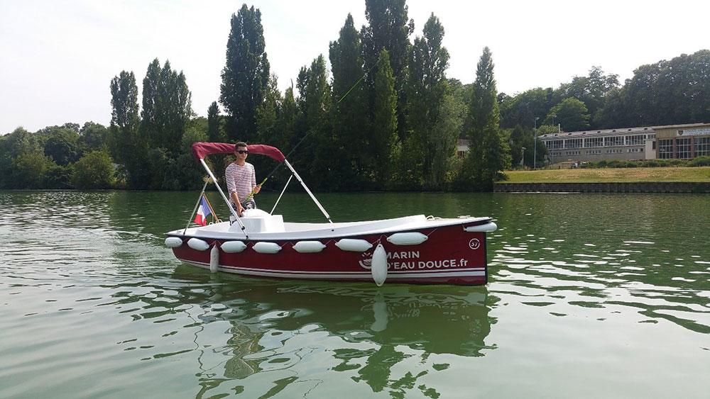 Pêche sur la Marne