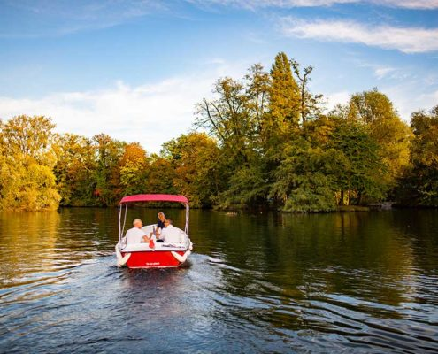 Pleine Nature : à bord de nos bateaux électriques, navigiez sur l'Ill autour de Strasbourg