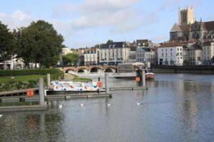 Meaux, le pont des Vieux Moulins