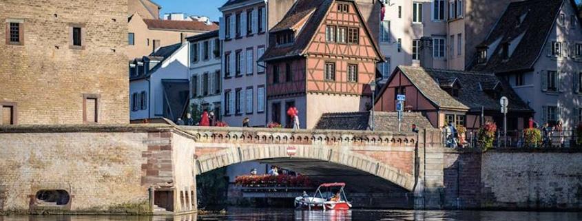 Les Ponts Couverts sont le point de départ et d'arrivée de vos balades à Strasbourg