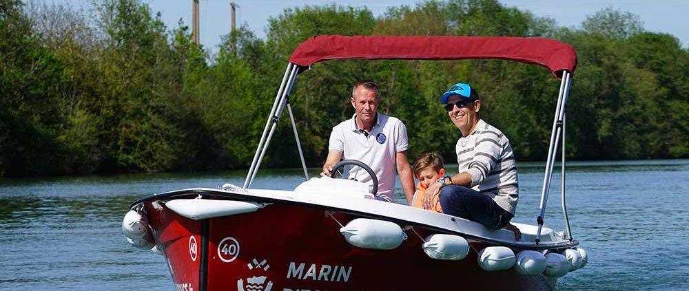Itinéraire 3H à Meaux : Profitez de cette balade au fil de l'eau pour apprendre les bases de la navigation !