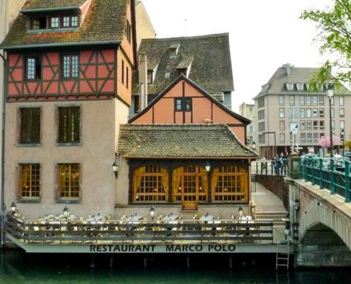 Le restaurant La Corde à Linge, au cœur de la Petite France