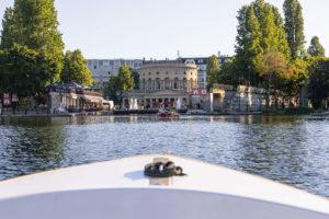 Louez un bateau électrique Bassin de la Villette. Réservez dès maintenant !