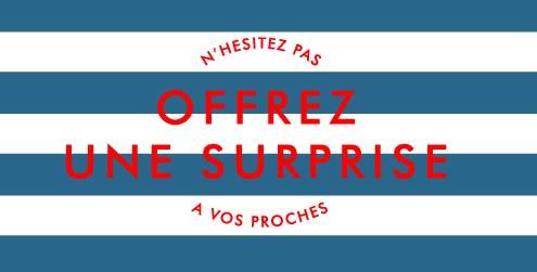 offrir une surprise