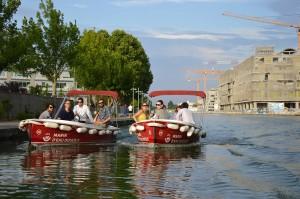 Team Building sur le canal de l'Ourcq