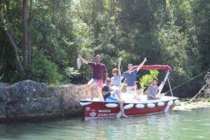 Team building pêche sur la Marne