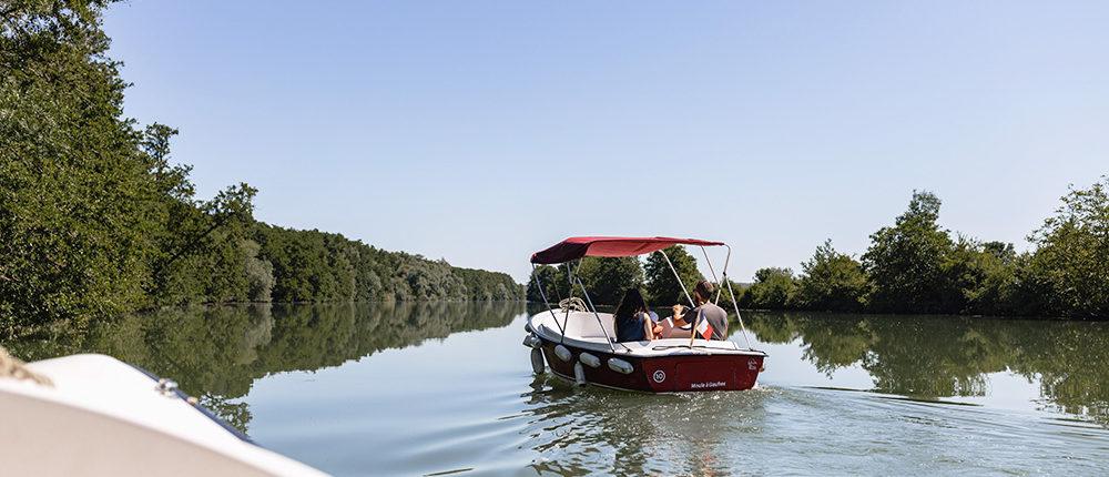 Idée tourisme : L'itinéraire de 6H de balade en bateau sur la Marne à partir de Meaux