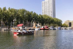 Marin d'Eau Douce pour visiter Paris