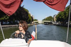 Découvrez Paris en bateau sans permis