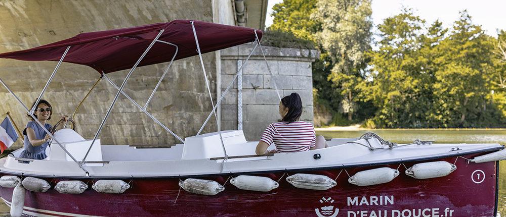Itinéraire de 4H sur la Marne : Louez nos bateaux électriques sans permis pour une sortie entre amis